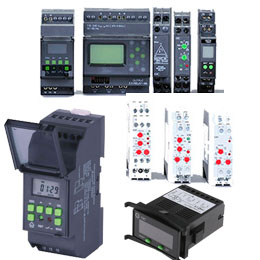 Industrial Automation (Timers, PLC...)